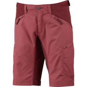 Lundhags Makke Korte Broek Dames, garnet/dark red